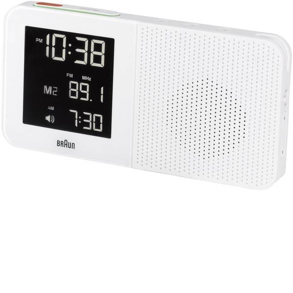 Sveglie - Braun 66022 Radiocontrollato Sveglia Bianco Tempi di allarme 1 -