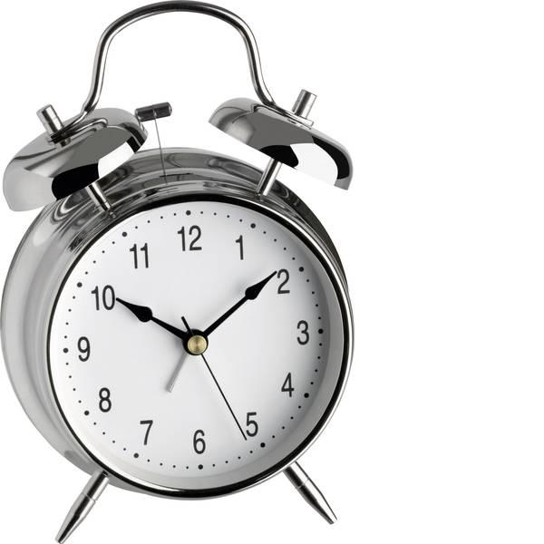 Sveglie - TFA 98.1043 Quarzo Sveglia Argento Tempi di allarme 1 -