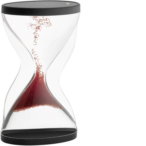 Timer - Clessidra TFA 18.6004.05 Acrilico trasparente, Rosso, Nero -