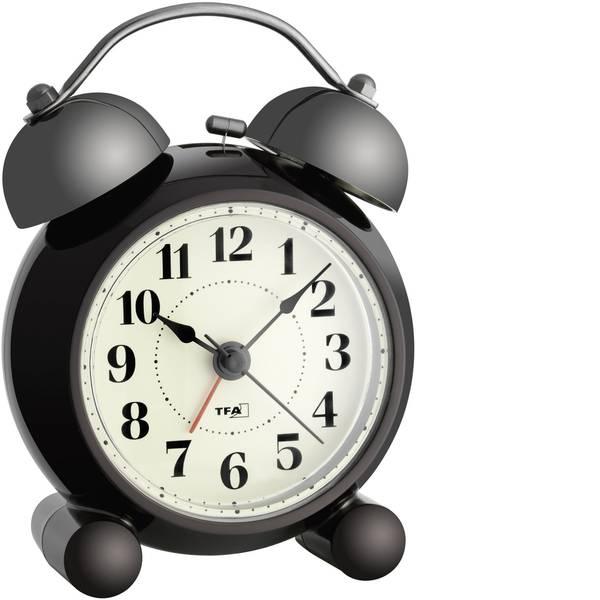 Sveglie - TFA 60.1014 Quarzo Sveglia Marrone scuro Tempi di allarme 1 -
