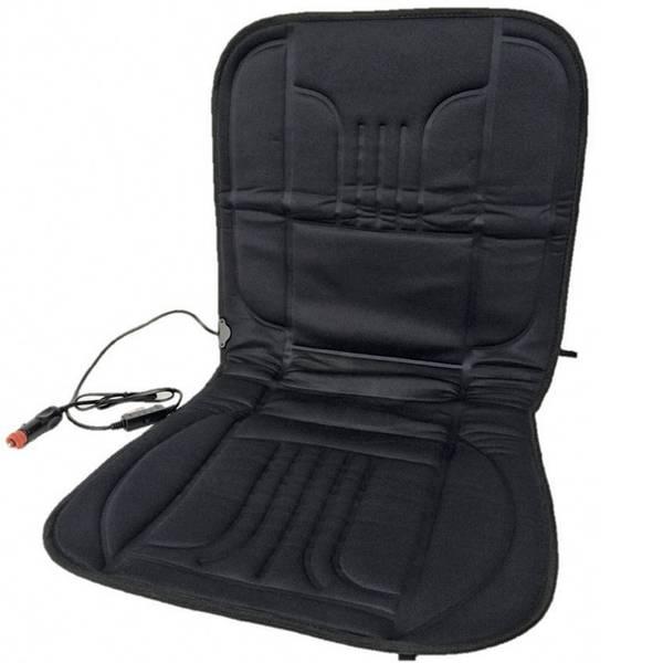 Coprisedili riscaldati e rinfrescanti per auto - Rivestimento riscaldante per sedile Profi Power 12 V 2 livelli di calore Nero -