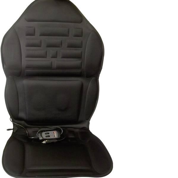 Coprisedili riscaldati e rinfrescanti per auto - Rivestimento riscaldante per sedile Profi Power 12 V 2 livelli di calore, Funzione massaggio Nero -