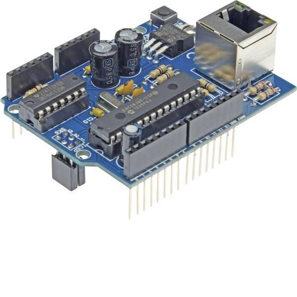 Shield e moduli aggiuntivi HAT per Arduino - Ethernet in kit da montare Velleman KA04 Ethernet Adatto per (scheda): Arduino UNO -