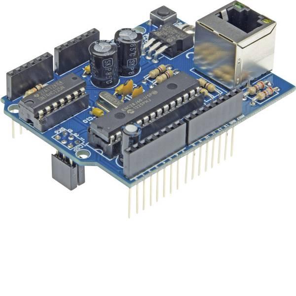 Shield e moduli aggiuntivi HAT per Arduino - Ethernet pre-montato Velleman VMA04 Ethernet Adatto per (scheda): Arduino UNO -