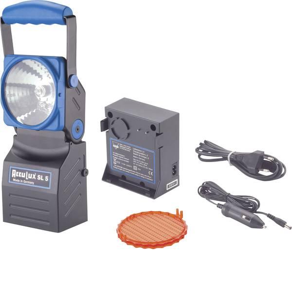 Torce con batterie ricaricabili - AccuLux 456481 Lampada portatile a batteria SL 5 Nero, Blu LED 4 h -