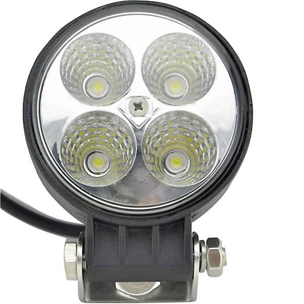 Fari e proiettori da lavoro - SecoRüt Faro da lavoro 12 V, 24 V 12 W 95524 Illuminazione da vicino (Ø x A) 84 mm x 111 mm 600 lm 6000 K -