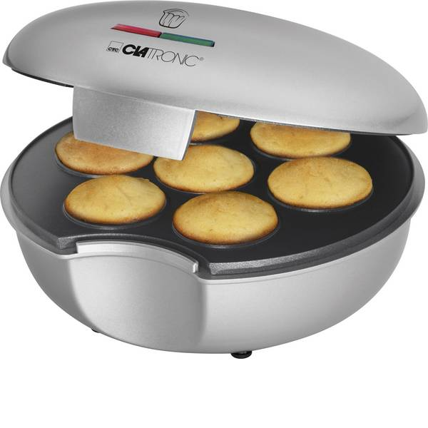Macchine per cialde - Clatronic MM3496 Muffin Maker Argento, Nero -
