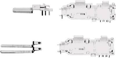 Moduli spina Modulo spina 1 Conduttore doppio 6624 2 201-00 Grigio ADC Krone Contenuto: 1 pz.