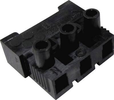 Adels-Contact 151183 V9 1 pz. Morsetto filo flessibile: -2.5 mm² filo rigido: -2.5 mm² Poli: 3 Nero