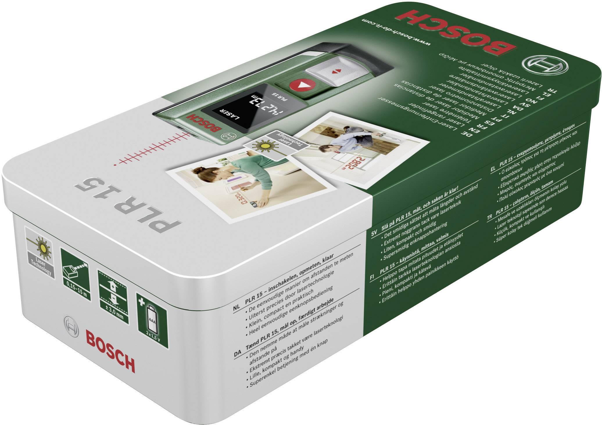 Telemetro laser bosch home and garden plr calibrato iso
