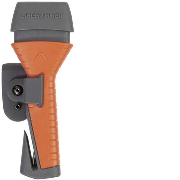 Prodotti assistenza guasti e incidenti - Utensile di sicurezza LifeHammer 10660 10660 Incl. Supporto, Taglia cinture, Rottura vetri (L x L x A) 21.5 x 14 x 3.7  -