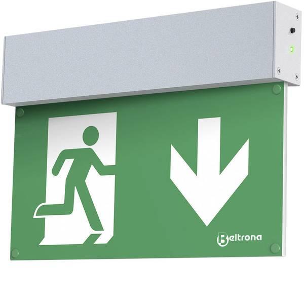 Segnaletica per uscite d`emergenza - Indicazione via di fuga illuminata Montaggio a parete Beltrona MEXM7.25.01 -