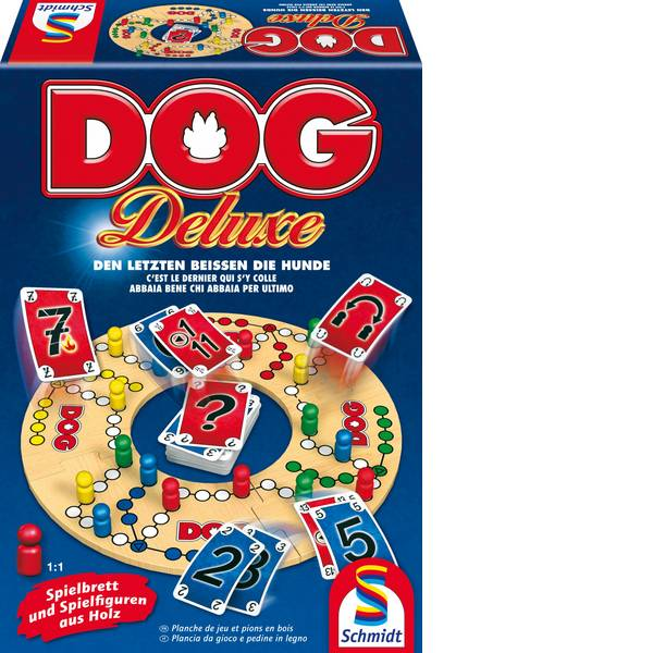 Giochi di società e per famiglie - Giochi rossi DOG Deluxe -