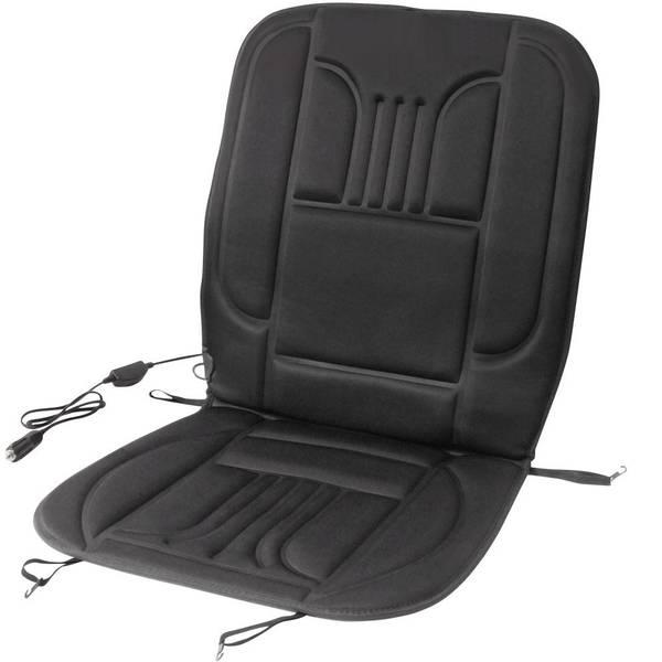 Coprisedili riscaldati e rinfrescanti per auto - Rivestimento riscaldante per sedile DINO 12 V 2 livelli di calore Nero -