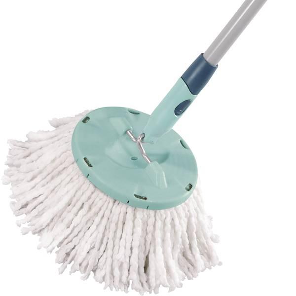 Pulizia dei pavimenti e accessori - Testa di ricambio leifheit Clean Twist pavimenti, microfibra 52020 -