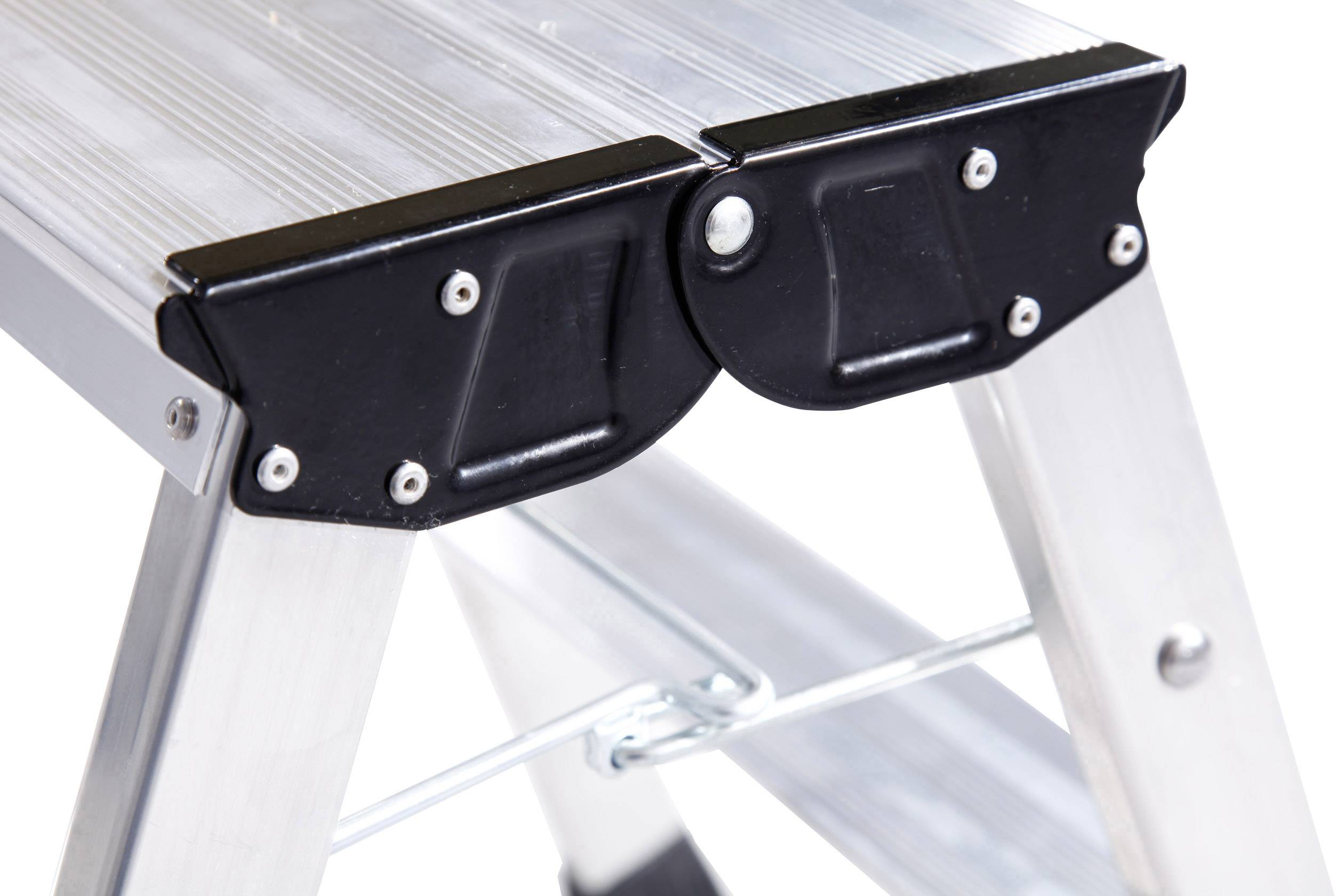 Sgabello pieghevole a doppia salita pieghevole alluminio altezza