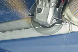 per smerigliatrice angolare RHODIUS confezione da 5 pezzi Dischi lamellari in acciaio INOX LSZ F3 /Ø 115 mm K40