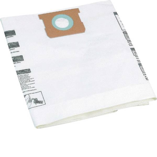 Accessori per aspirapolvere e aspiraliquidi - Sacchetto filtrante Kit da 5 ShopVac 90662 -
