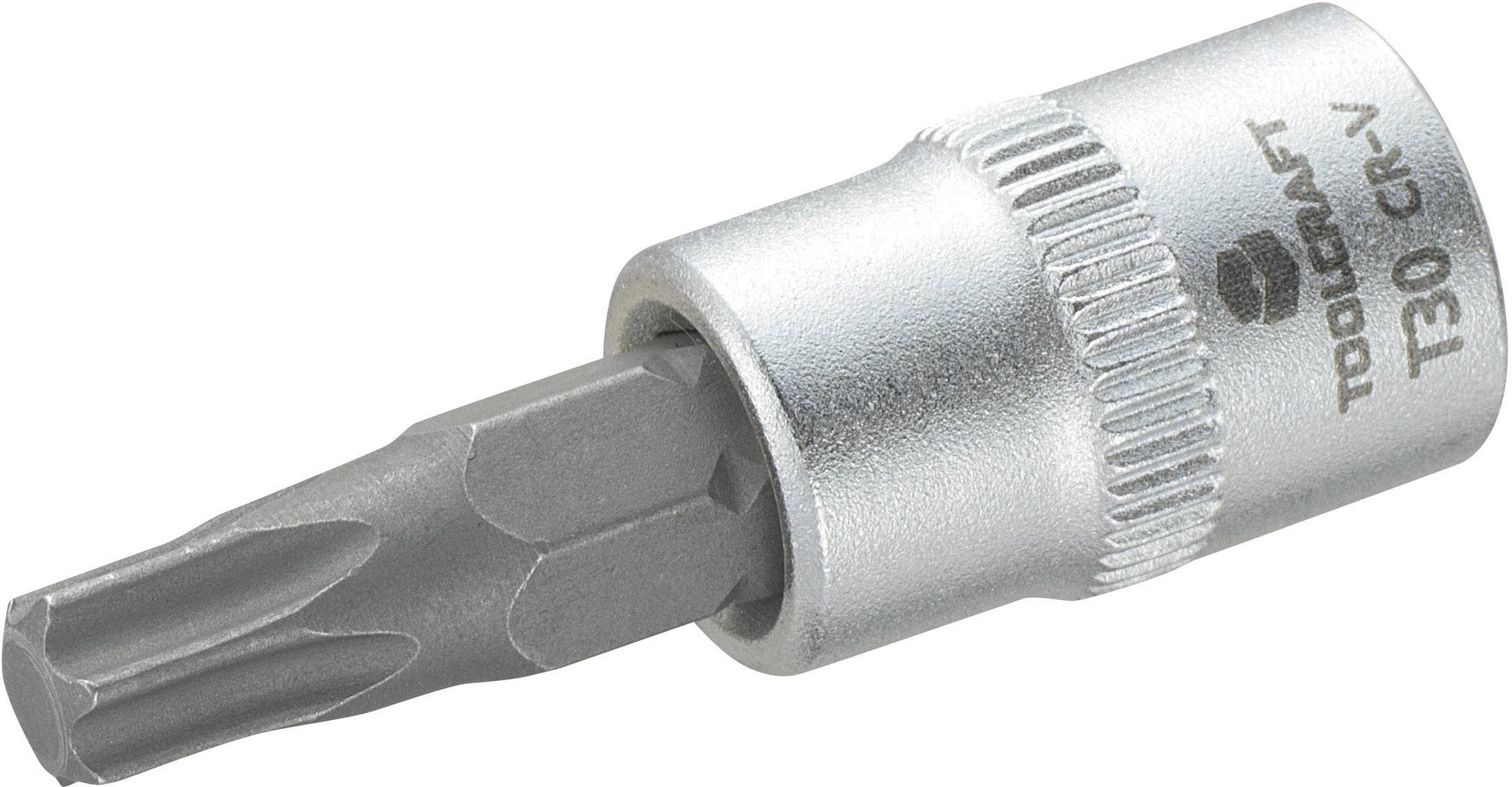 Toolcraft t30 816153 torx inserto giravite a bussola t 30 1//4 6.3 mm