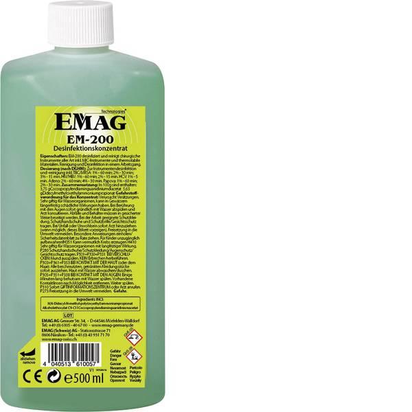 Lavatrici ad ultrasuoni - Emag EM200 Concentrato detergente attrezzature mediche 500 ml -