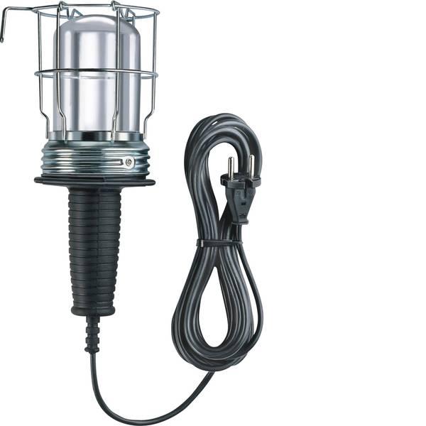 Lampade tecniche e lenti da laboratorio - Brennenstuhl 1176510 Lampada da lavoro in gomma senza interruttore 10m H05RN-F 2x0,75 60W E27 -