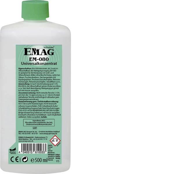 Lavatrici ad ultrasuoni - Emag EM080 Concentrato detergente universale 500 ml -