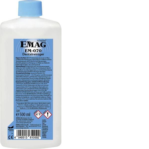 Lavatrici ad ultrasuoni - Emag EM070 Concentrato detergente zona dentale 500 ml -