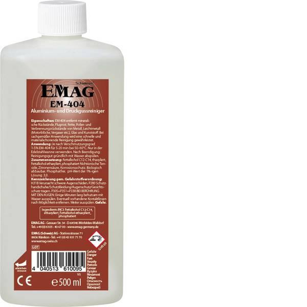 Lavatrici ad ultrasuoni - Emag EM404 Concentrato detergente residui minerali 500 ml -