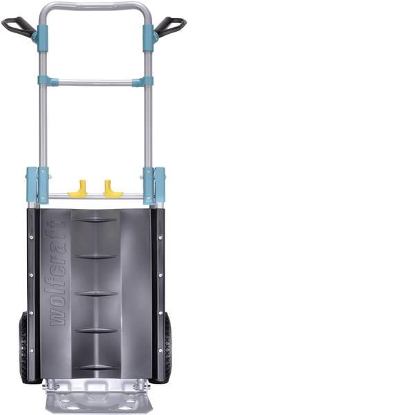 Carrelli per sacchi - Wolfcraft TS 1000 5520000 Carrellino pieghevole Lamiera dacciaio Capacità di carico (max.): 150 kg -