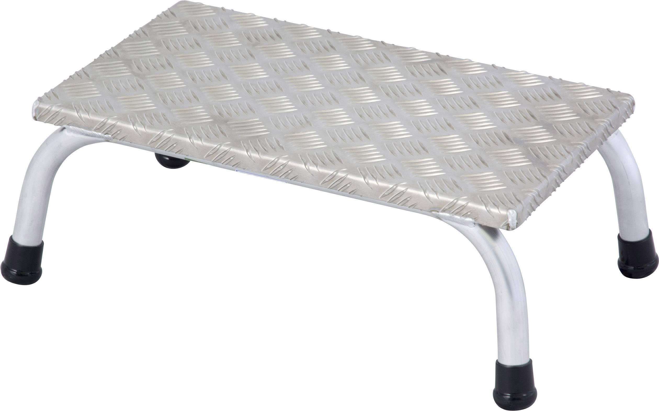 Sgabello alluminio altezza operativa max: 2.20 m krause 805010
