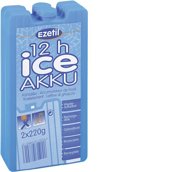 Accessori e ricambi per mini frigo - Ezetil Batterie per frigo 2 x 220 g (L x L x A) 165 x 88 x 20 mm -