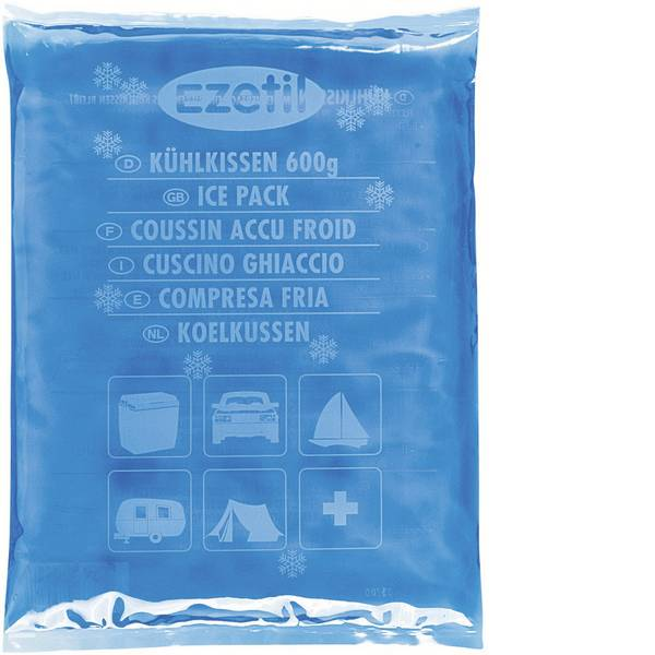Accessori e ricambi per mini frigo - Ezetil Cuscinetto refrigerante SoftIce 600 (L x A x P) 150 x 12 x 210 mm -