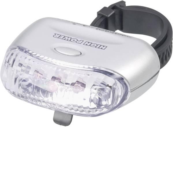 Luci per bicicletta - Security Plus Fanale posteriore DR47 LED a batteria Argento -