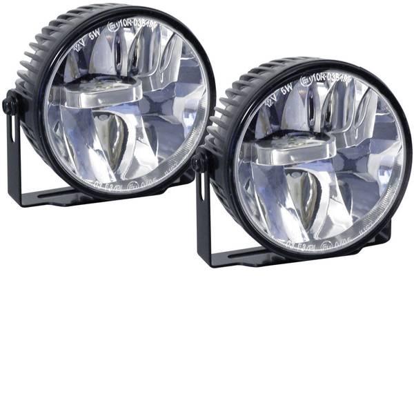 Luci diurne e fendinebbia - Devil Eyes 610771 Faro fendinebbia LED (Ø x P) 90 mm x 60 mm -