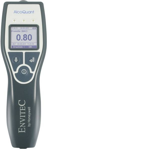 Etilometri - Envitec by Honeywell AlcoQuant 6020 Etilometro 0 fino a 5.5 ‰ incl. display -