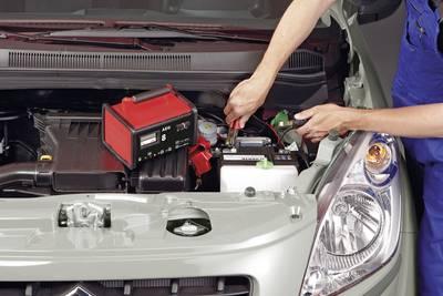 AEG WM 8 2AEG97008 Caricabatterie da officina 6 V, 12 V 7.2 A 8 A