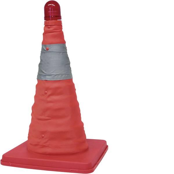 Prodotti assistenza guasti e incidenti - Cono per traffico HP Autozubehör 10282 0113910 Luce di emergenza LED rosso (L x L x A) 245 x 245 x 460 mm -