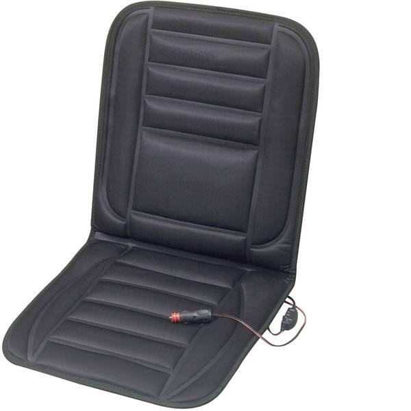 Coprisedili riscaldati e rinfrescanti per auto - Rivestimento riscaldante per sedile 12 V 2 livelli di calore Nero -