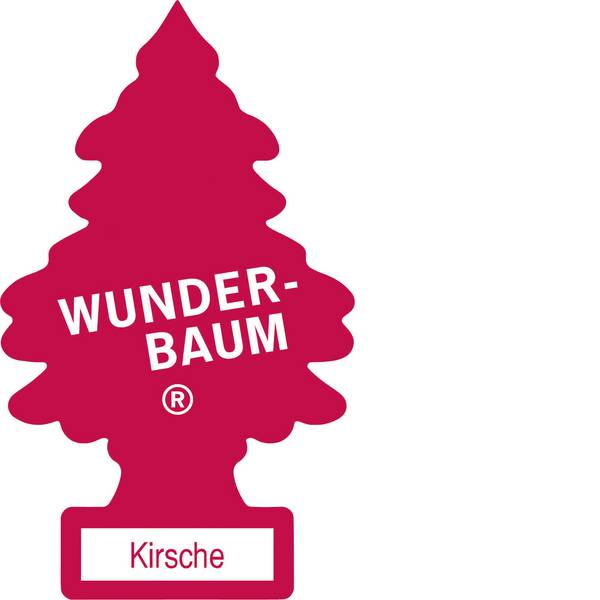 Deodoranti per auto - Wunder-Baum Alberello profumato Ciliegio 1 pz. -