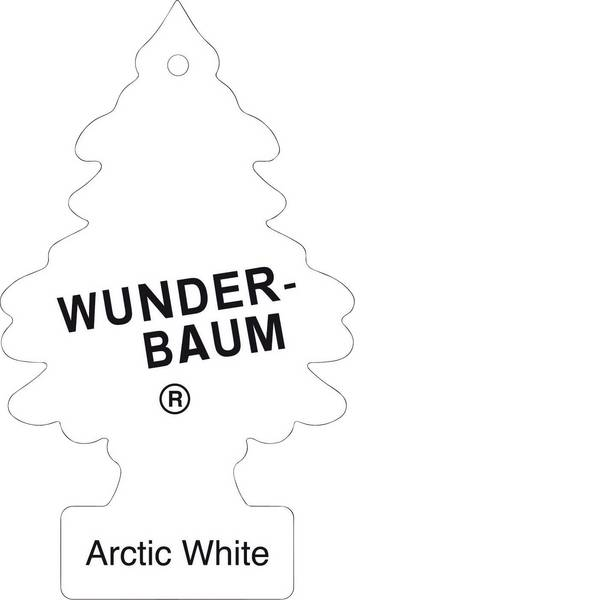 Deodoranti per auto - Wunder-Baum Alberello profumato Artic White 1 pz. -