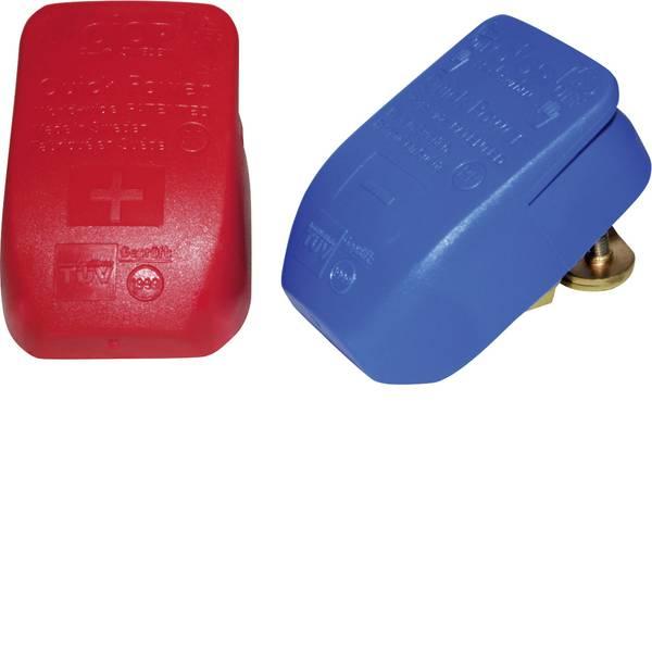 Morsetti batteria per auto - Giunto rapido Polo positivo, Polo negativo Lilie 30100C (L x A x P) 45 x 27 x 63 mm -