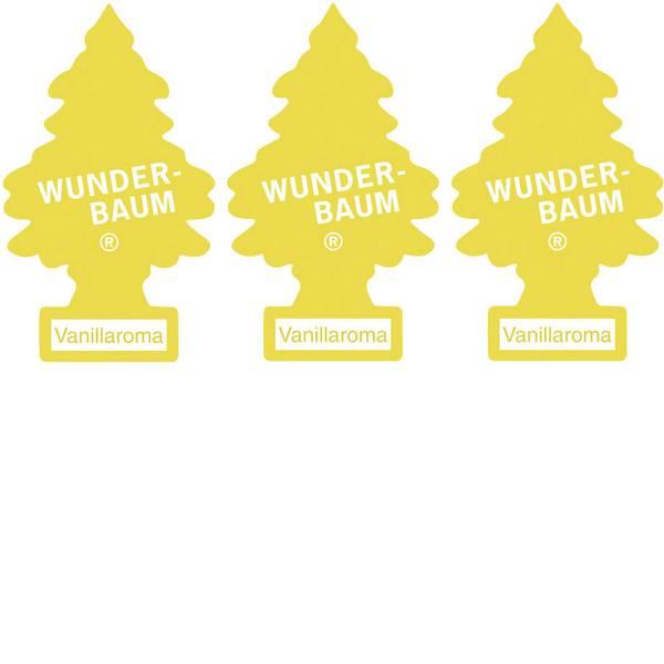 Deodoranti per auto - Wunder-Baum Alberello profumato vaniglia 3 pz. -