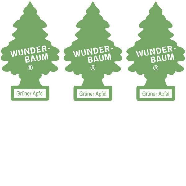 Deodoranti per auto - Wunder-Baum Alberello profumato Mela / mela verde 3 pz. -