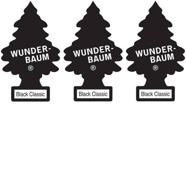 Deodoranti per auto - Wunder-Baum Alberello profumato Black ICE 3 pz. -