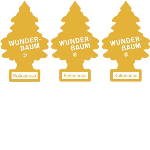 Deodoranti per auto - Wunder-Baum Alberello profumato noce di cocco 3 pz. -