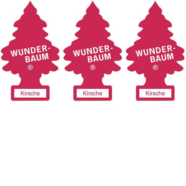 Deodoranti per auto - Wunder-Baum Alberello profumato Ciliegio 3 pz. -