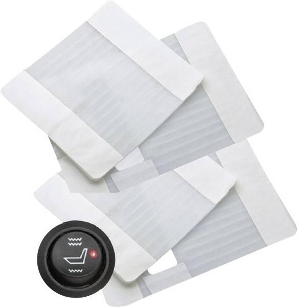 Coprisedili riscaldati e rinfrescanti per auto - Dometic Group Riscaldamento sedile 12 V 2 sedili. Bianco -
