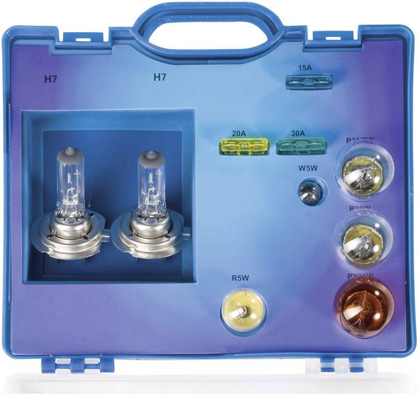 Lampadine per auto e camion - Unitec Assortimento di lampadine Standard H7 55 W -