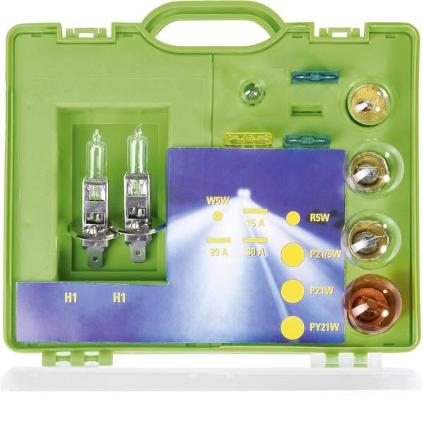 Lampadine per auto e camion - Unitec Assortimento di lampadine Standard H1 55 W -