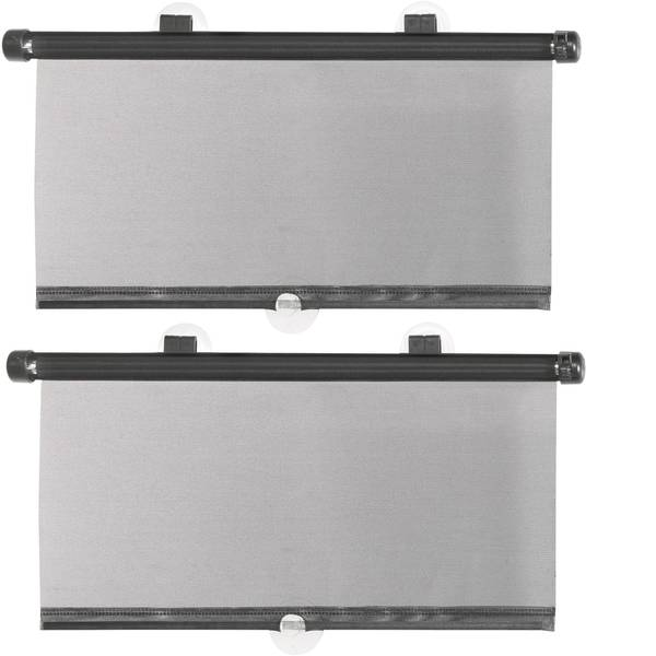 Accessori comfort per auto - Tendina parasole HP Autozubehör 0522687 42 cm x 52 cm per finestrini laterali -